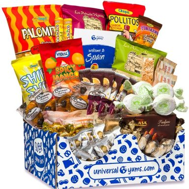 Universal Yums Snack Box Subscription from Around the World Gifter World
