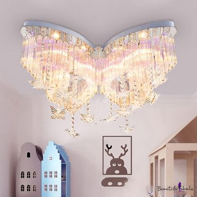 Butterfly Crystal Chandelier Girls Room Gifter World