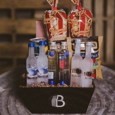 Vodka Sampler Gift Basket Booze Basket Gifter World