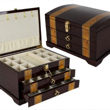 Plantation Wooden Jewelry Box Gifterworld