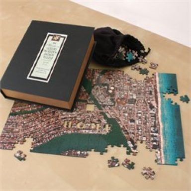 Heirloom Personalized Wooden Aerial Photo Puzzle Gifterworld