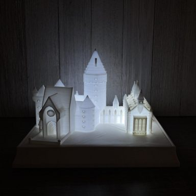 Hogwarts Harry Potter Lamp and Night Light by Gifter World
