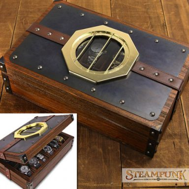 Unique Steampunk Watch Box Gifter World