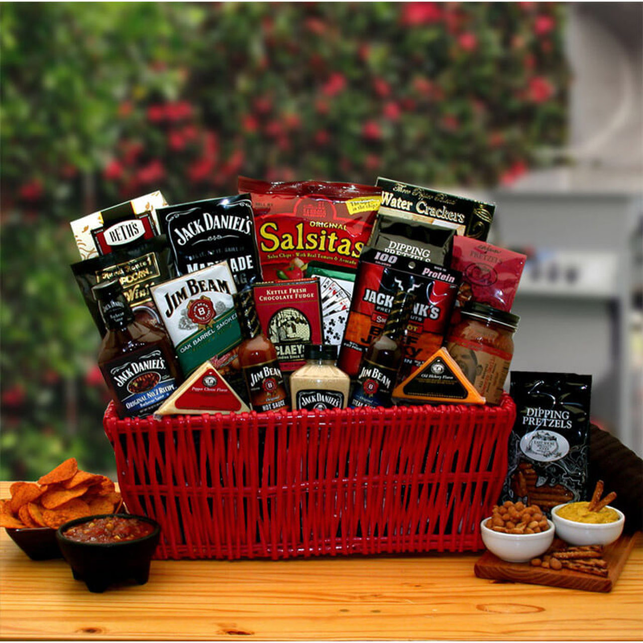 Jack Daniels Grilling Gift Basket for Barbecuing Gifter World