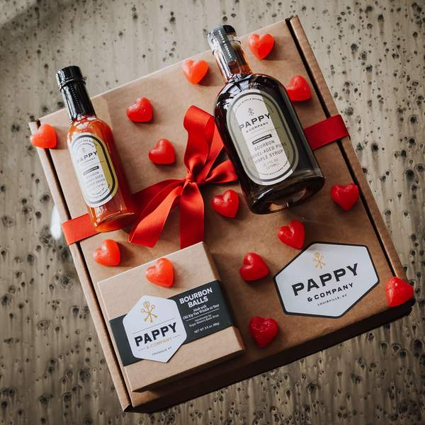 Pappy Bourbon Sweet and Spicy Gift Set Gifter World