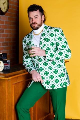 St. Patrick's Day Gifts Clover Green Suit Gifterworld