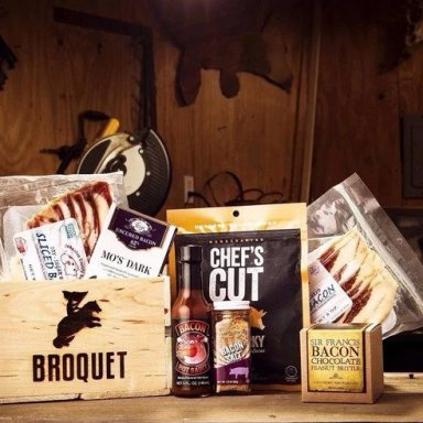Bacon Box Crate Smokehouse Gifter World