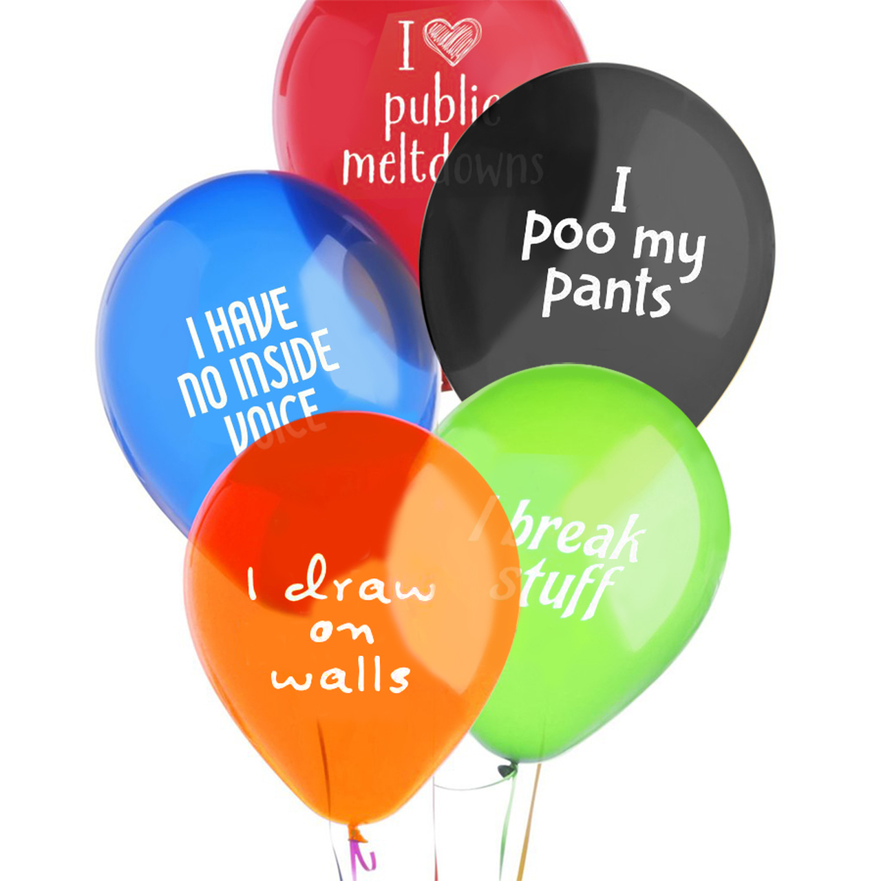 Kid Shaming Little Jerk Balloons Gag Gifts Gifter World