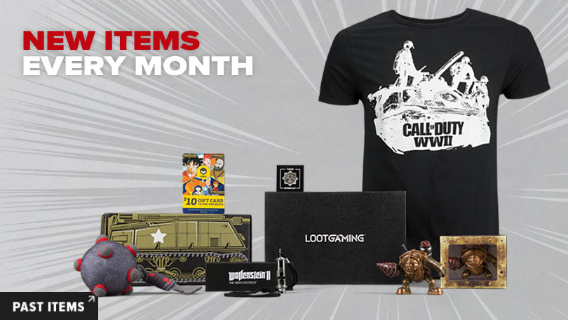 Lootcrate Subscription Box for Gamers and Geeks Gifter World