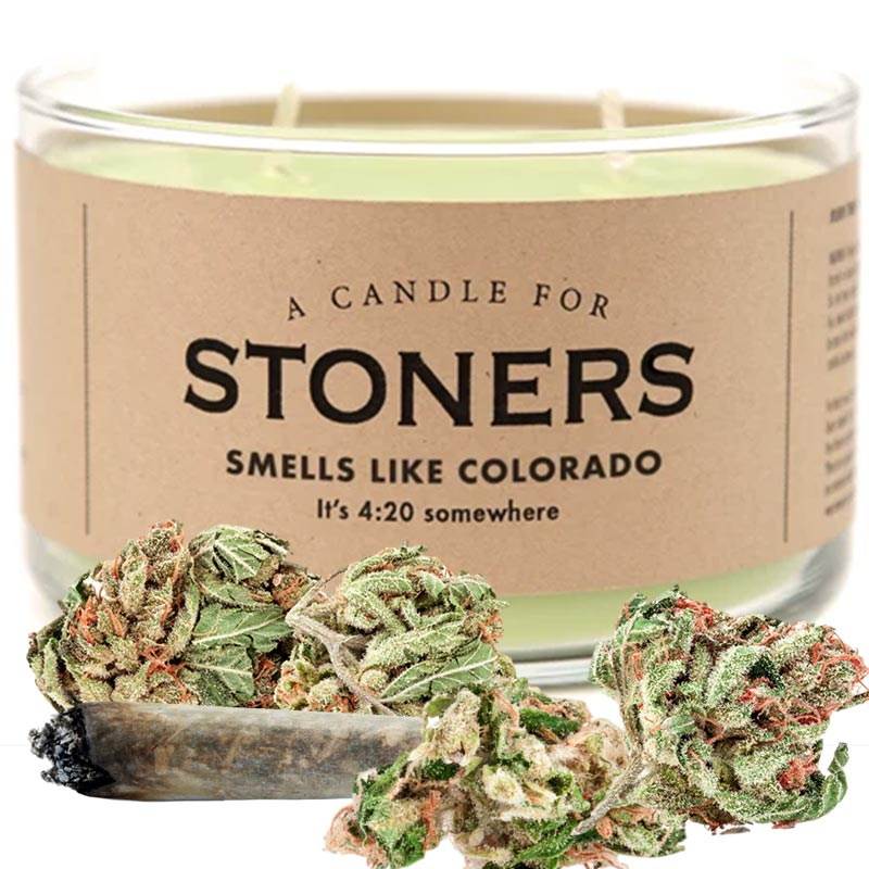 A Candle for Stoners Smells Like Colorado Weed Gifter World