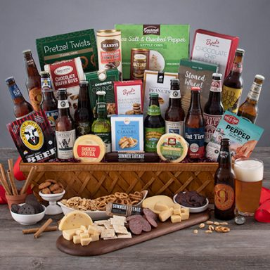 Beer Enthusiast Gift Basket Gifter World