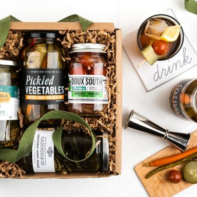 Boozy Pickles Gift Set Gifter World