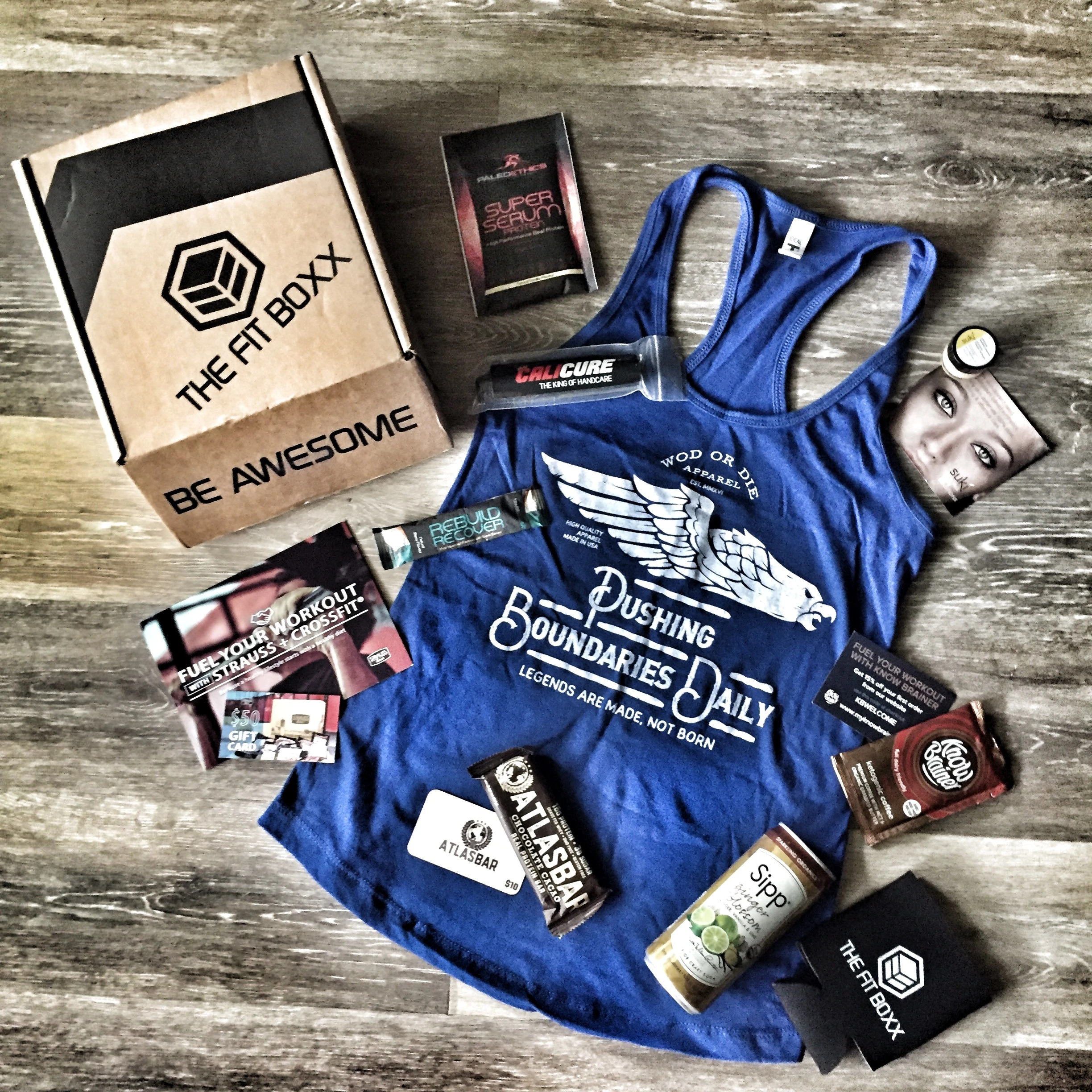 Fitness Subscription for Sports Enthusiasts The Fit Boxx Gifter World