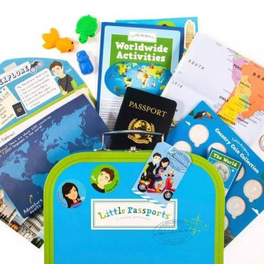 Little Passports Subscription and Summer Camp in a Box from Gifter World