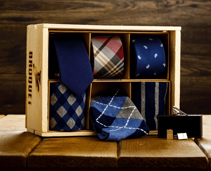 Sock and Tie Gift Box Set for Men Gifter World