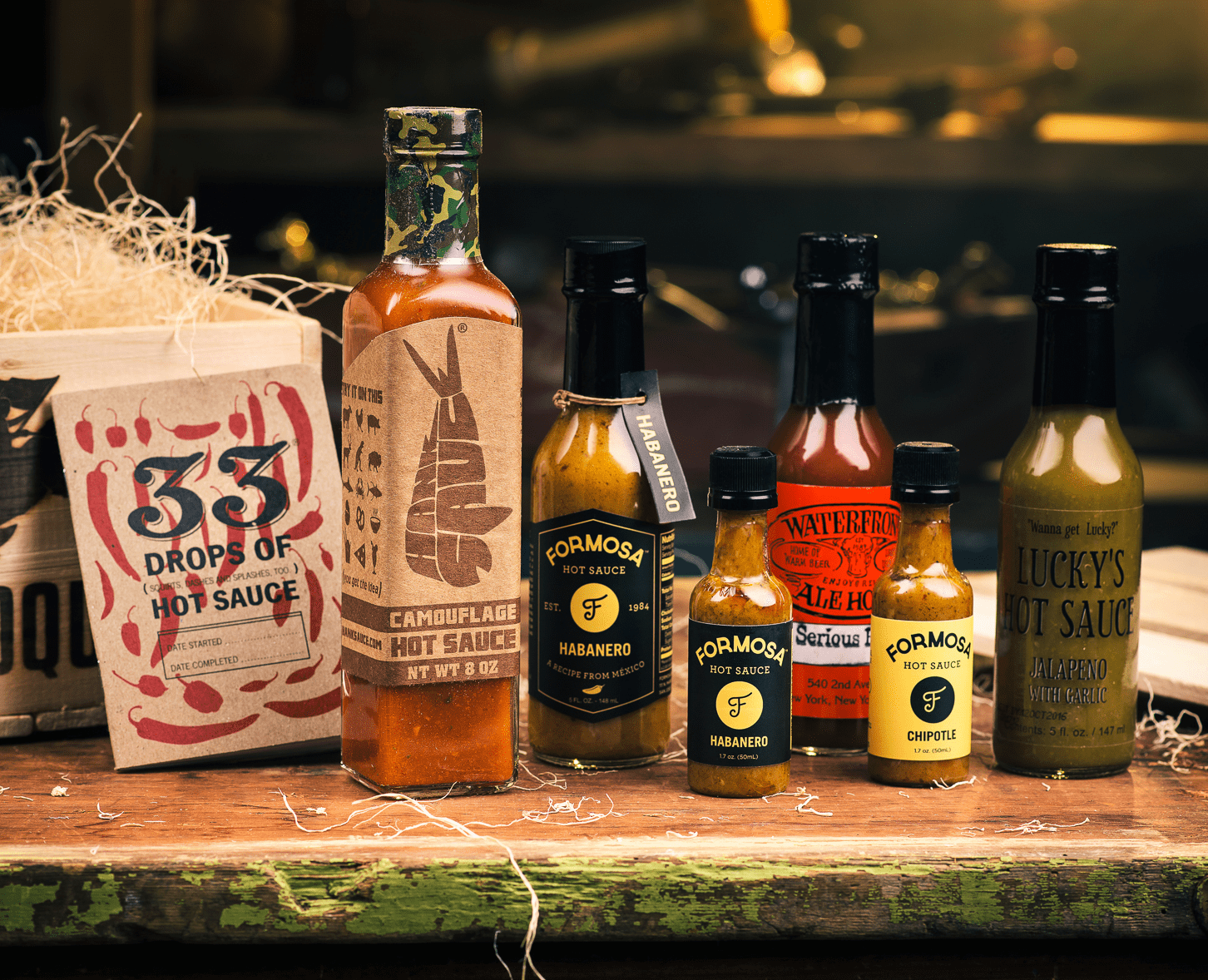 Hot Sauce Tasting Gift Set by Gifter World
