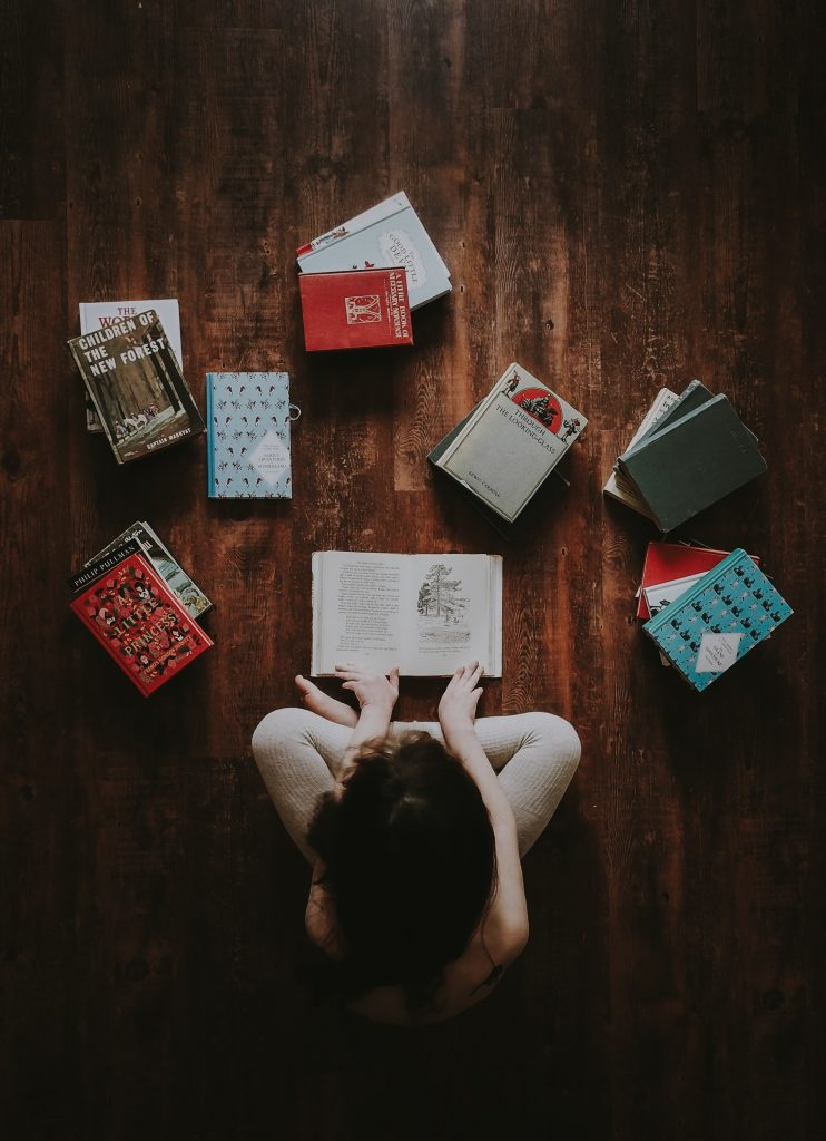 Book of the Month Club for Gifts for Book Lovers and Enthusiasts by Gifter World Picture by Annie Spratt