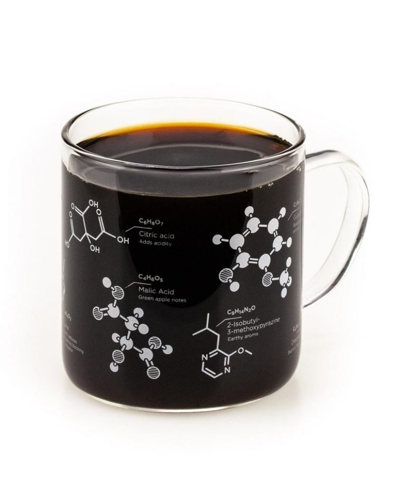 Coffee Chemistry Mug for Gifts for Engineering Students by Gifter World