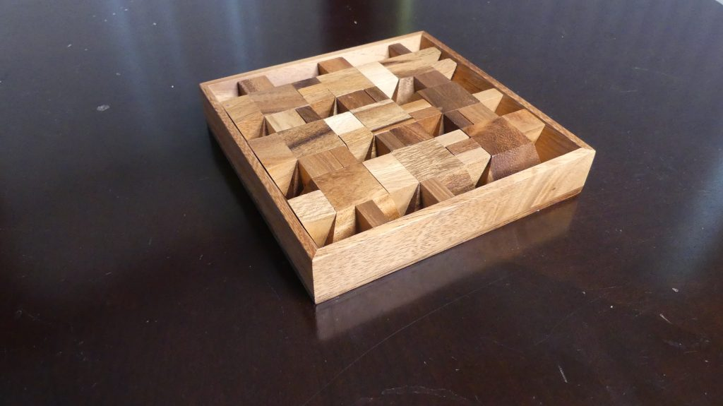 Puzzle Review Ziggurat Square from Gifter World