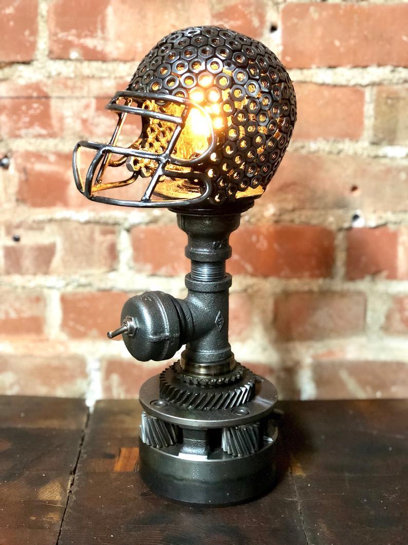 Football Helmet Lamp from Gifter World