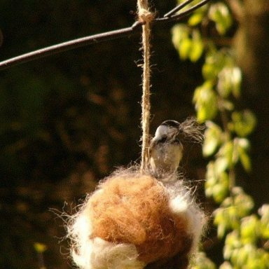 Alpaca Bird Nesting Ball by Gifter World
