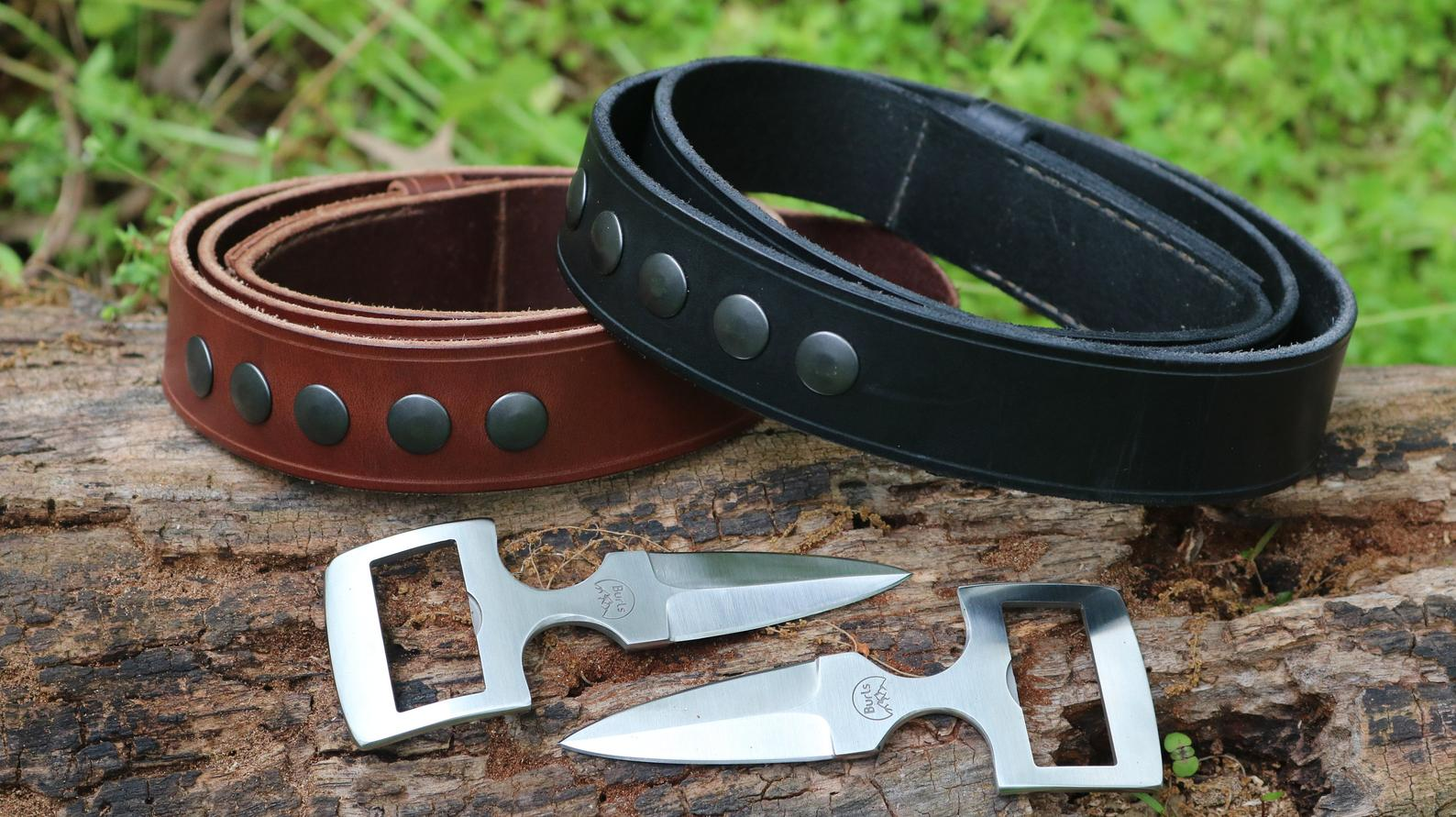 Belt Buckle Knife and Bottle Opener for Men by Gifter World