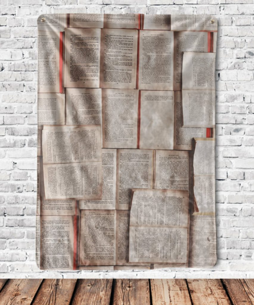 Book Blanket for Gifts for Book Lovers by Gifter World