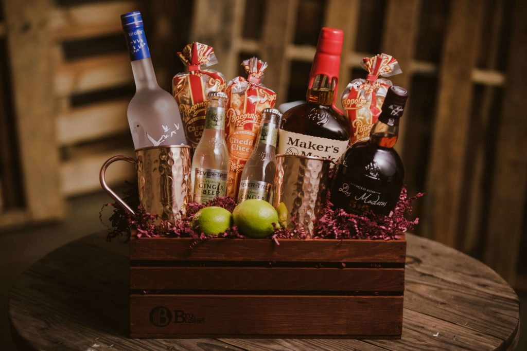 Booze Basket for Retirement Gift Ideas for Men and Women by Gifter World
