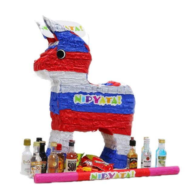 Booze Pinata Filled with Liquor and Candy from Nipyata by Gifter World