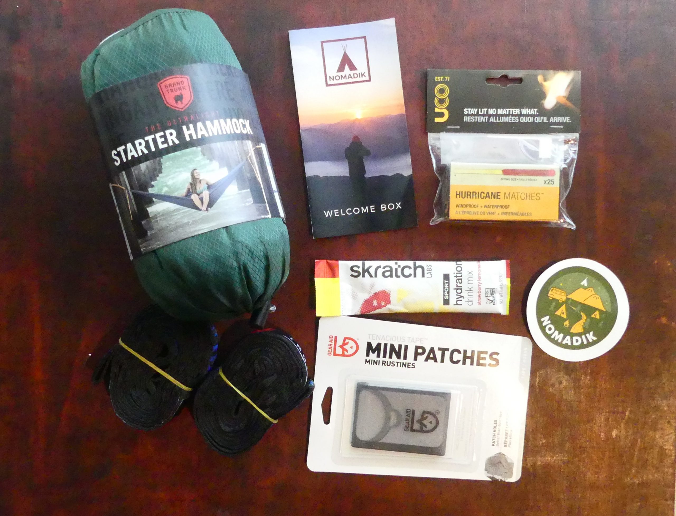Nomadik Outdoor Gear Box Review of Welcome Box by Gifter World