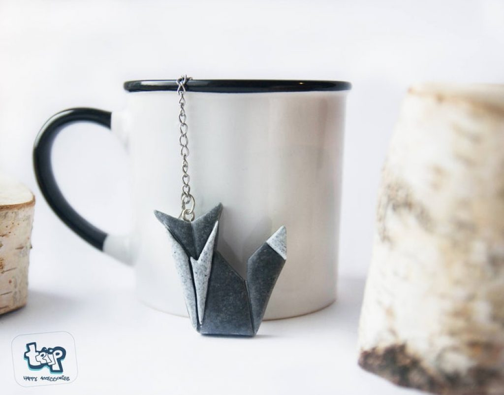 Origami Fox Tea Infuser for Cute Tea Infusers by Gifter World