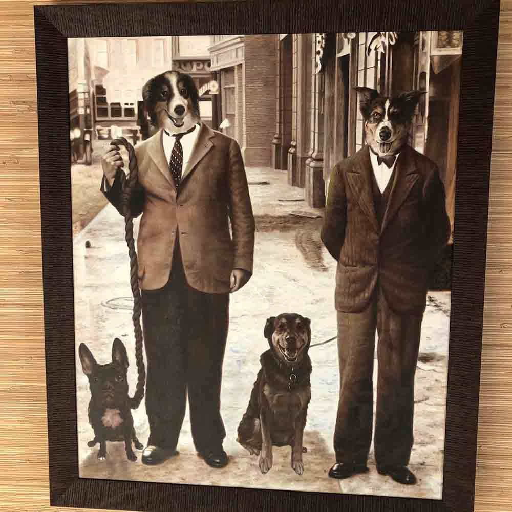 Pet Photo Art Personalized for Cats and Dogs by Gifter World