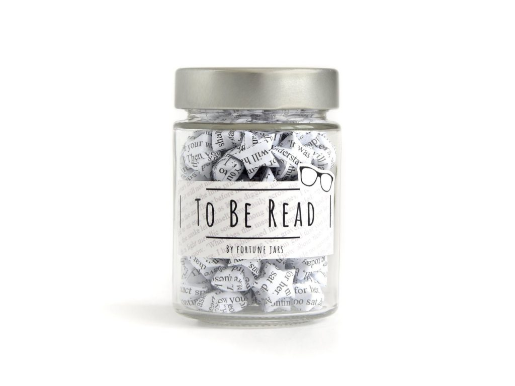 To Be Read Jar for Gifts for  Book Lovers and Enthusiasts by Gifter World