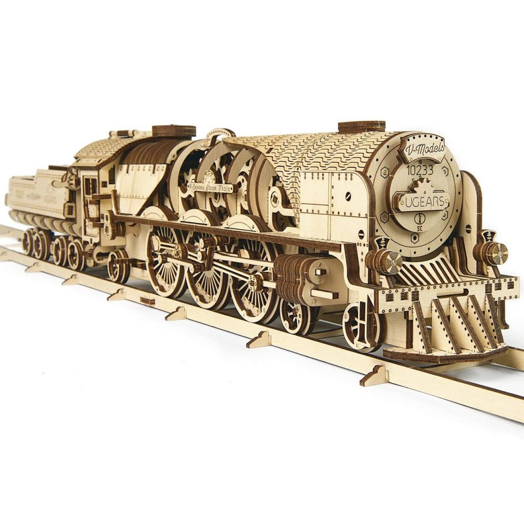Wooden Puzzle 3D Train for Gifts for Engineering Students by Gifter World