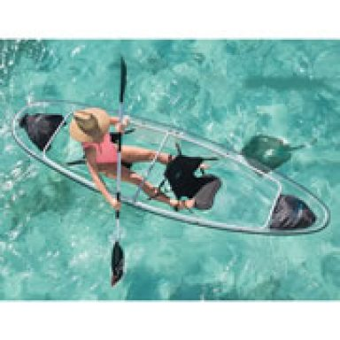 Transparent Kayak Canoe Combo by Gifter World