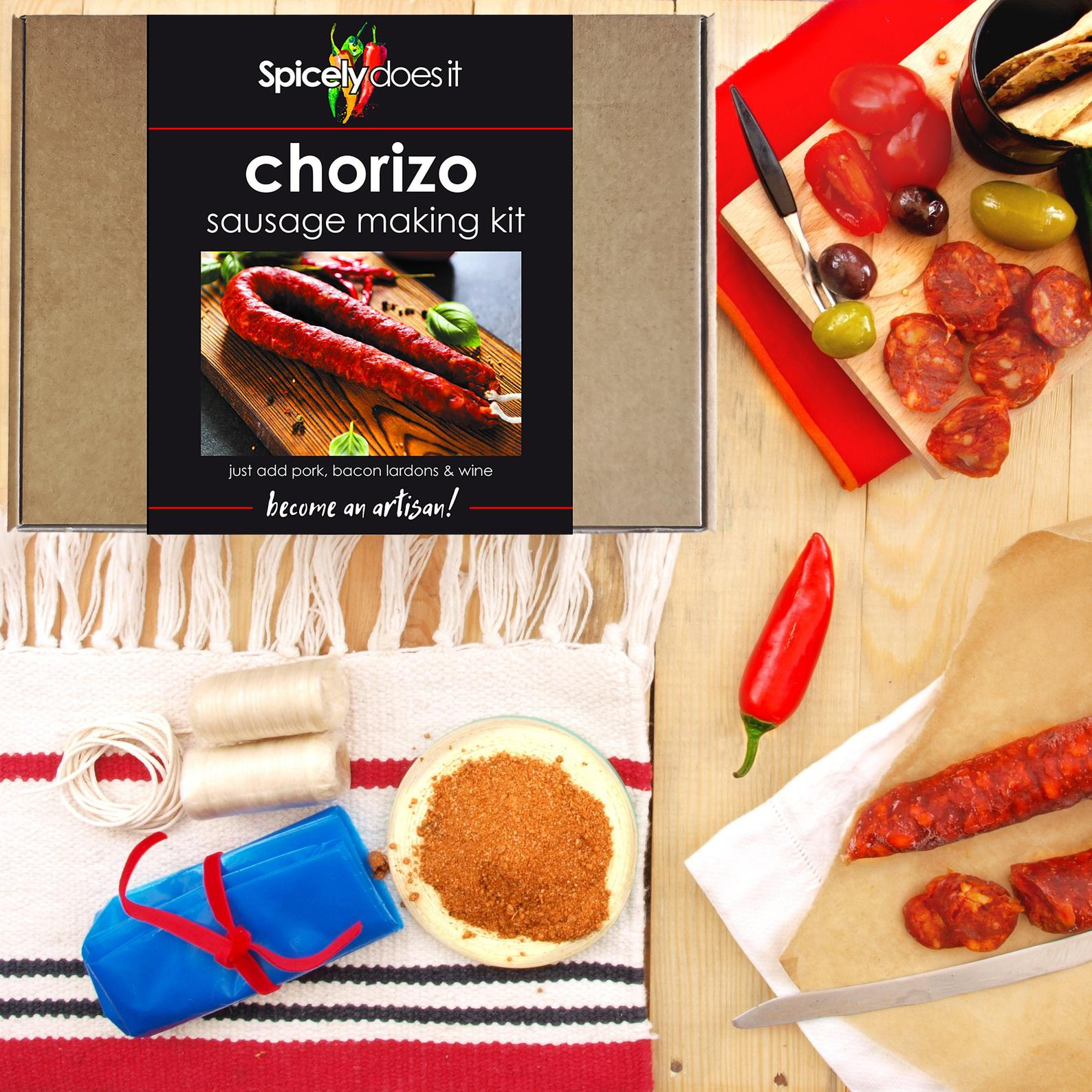Chorizo Sausage Making Kit by Gifter World
