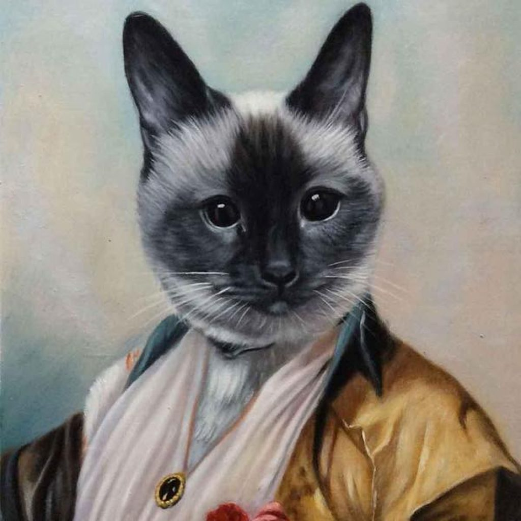 Dignified Pet Portrait and Unique Pet Gifts by Gifter World