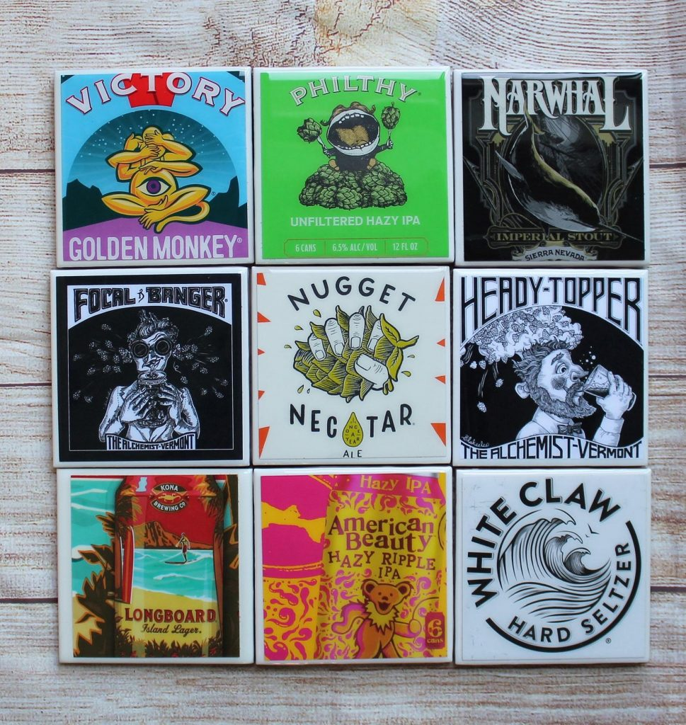 Beer Coasters and Unique Gifts for Beer Drinkers from Gifter World