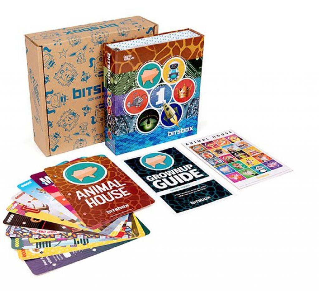 Bitsbox Subscription for Coding and Unique Educational Gifts for Kids That Aren't toys by Gifter World