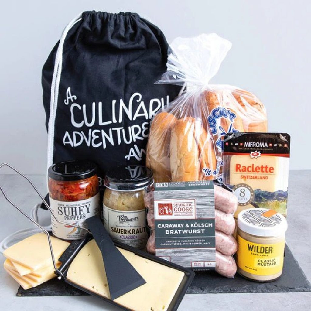Bratwurst Hoagie Making Kit and Gifts for People Who Suck at Cooking byGifter World