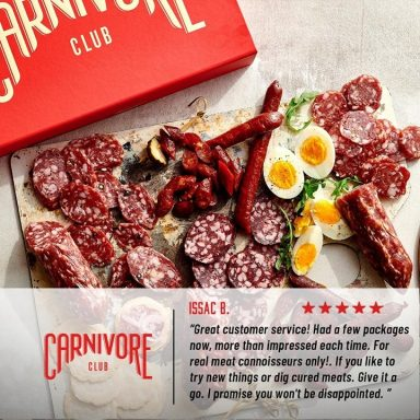 Carnivore Club Meat Subscription Box by Gifter World
