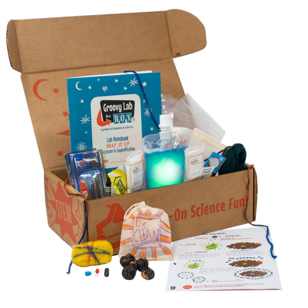 Groovy Lab in a Box Unique Educational Gifts for Kids That Aren't Toys by Gifter World