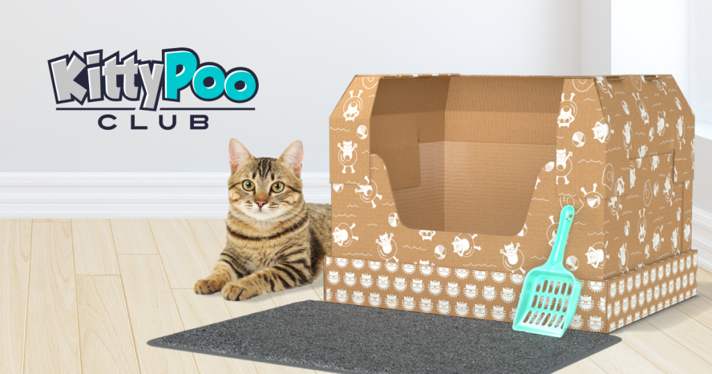 Kitty Poo Litter Box Subscription and Unique Pet Gifts by Gifter World