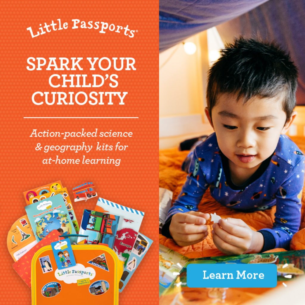 Little Passports Subscription and Unique Educational Gifts for Kids That Aren't Toys by Gifter World