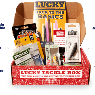 Lucky Tackle Box Subscription for Fishermen by Gifter World