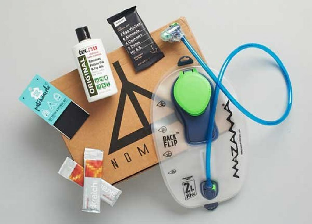 Nomadik Subscription Box and Unique Gifts for Campers, Hikers, Survivalists, and Outdoorsy People by Gifter World