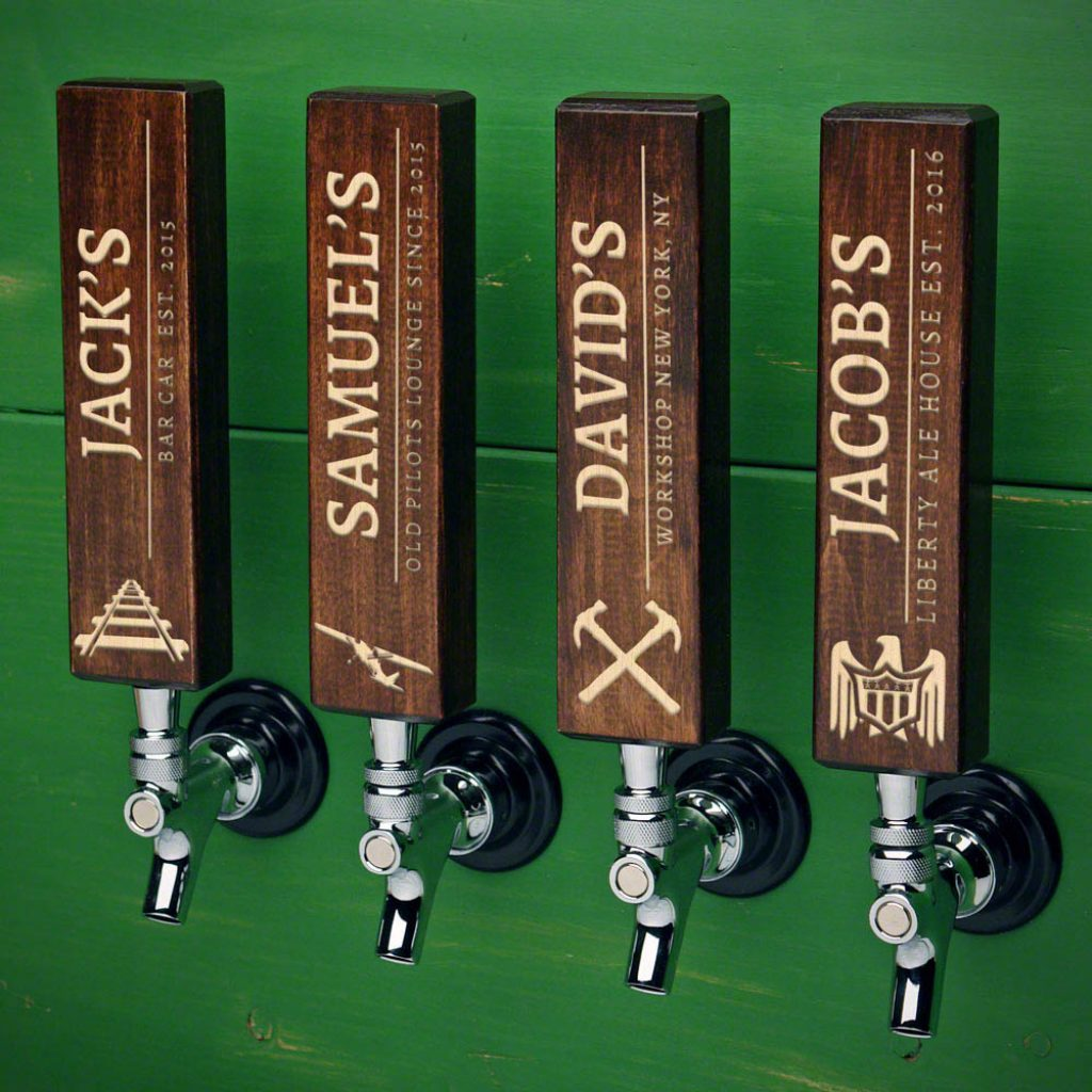 Personalized Beer Tap Handle for Unique Gifts for Beer Lovers
