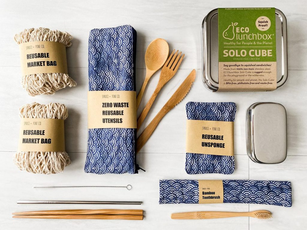 Zero Waste Cooking Kit and Unique Gifts for Chefs and Foodies by Gifter World