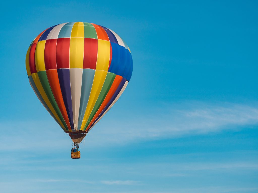 Hot Air Balloon Ride and Unique Gifts for Those Who Have Everything by Gifter World