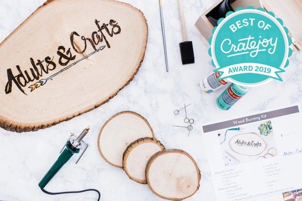 Adults and Crafts Crate Monthly Subscription by Gifter World
